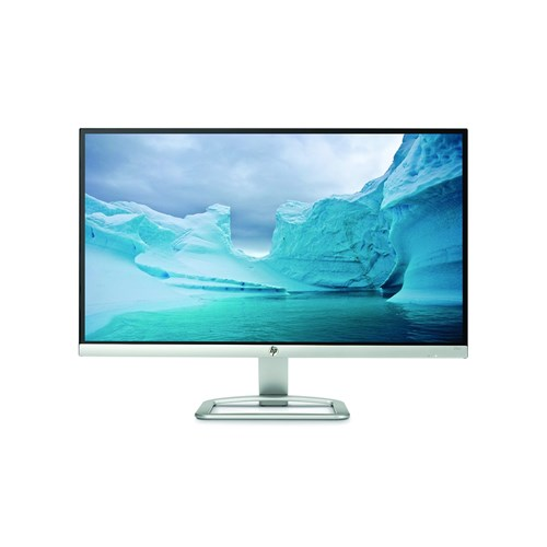 "HP 25"" LED-Backlit Widescreen Monitor (25er Blizzard White)"