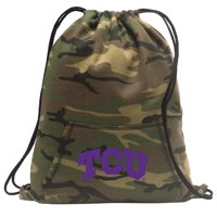 Texas Christian Drawstring Bag Camo Texas Christian Backpack Cinch Pack for Boys Girls Men Women