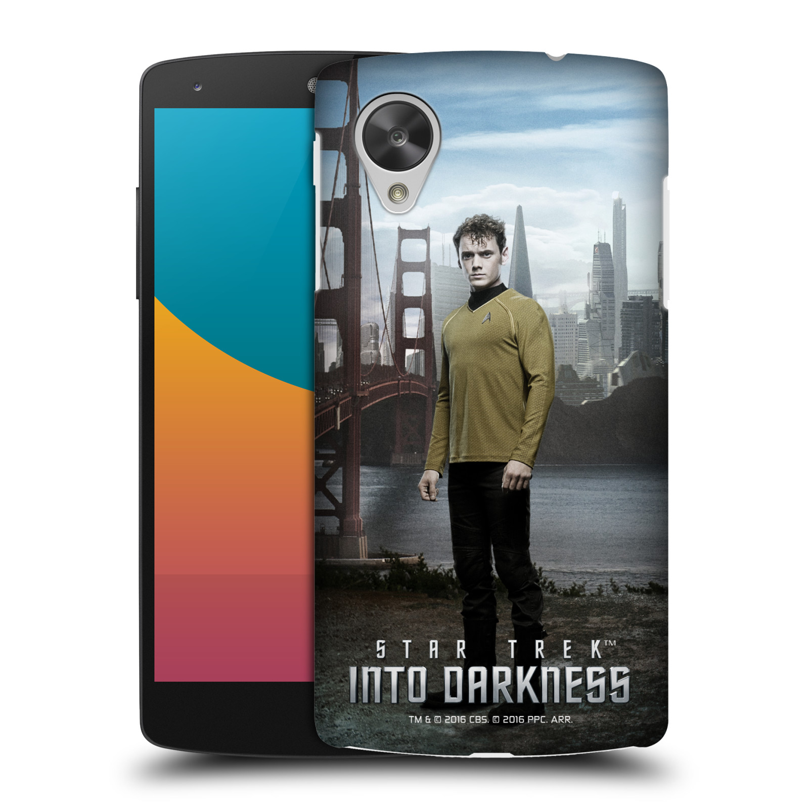 OFFICIAL STAR TREK CHARACTERS INTO DARKNESS XII HARD BACK CASE FOR LG PHONES 2