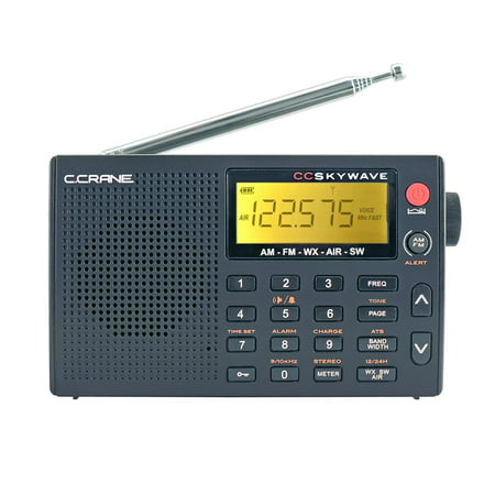 C. Crane CC Skywave AM, FM, Shortwave, NOAA Weather and Airband Portable Travel (Best Cheap Shortwave Radio)
