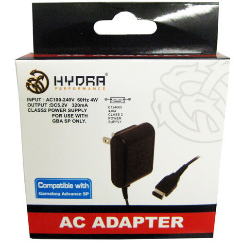 Hydra Performance GBA SP AC Adapter