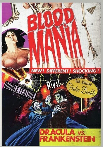 Blood Mania Dracula Vs. Frankenstein ( (DVD)) by