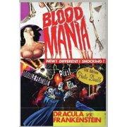 Blood Mania Dracula Vs. Frankenstein ( (DVD)) by