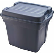 Rubbermaid Roughneck Tote High Top Storage Bin, 24 Gal, Dark Indigo Metallic