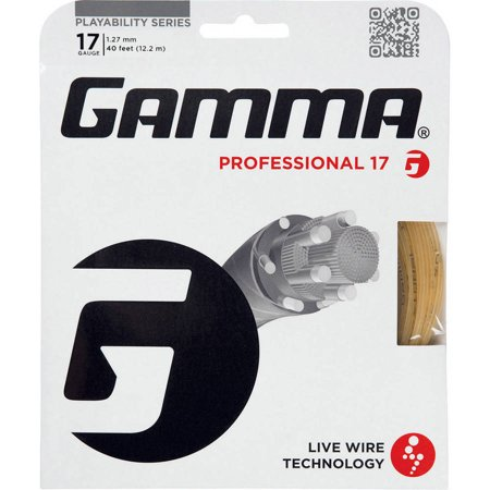 GAMMA Sports Live Wire Professional Tennis String