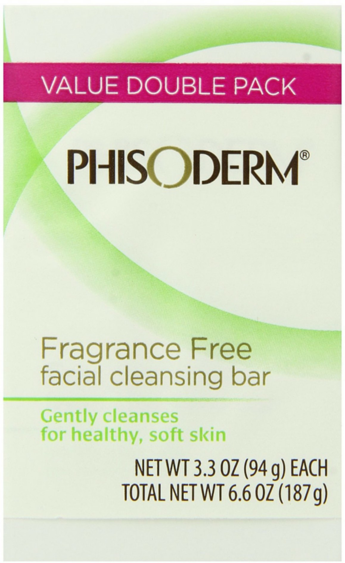 pHisoderm Facial Skin Cleansing Bar, Fragrance Free 2pack [2 x 3.3oz bars] (Pack of 4) ROSE WATER - 100% Pure Facial Toner and cleanser with a Floral Scent ( 4 Oz) with stopper (*)