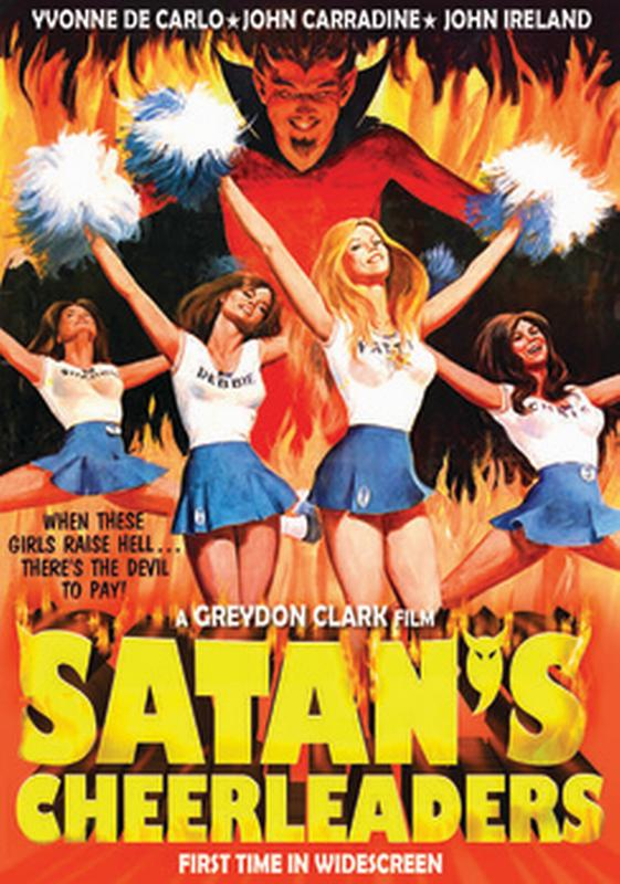 Satan's Cheerleaders (DVD) by VCI Home Video (Video Communications, Inc.)