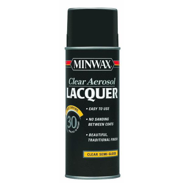 Minwax Clear Spray Lacquer