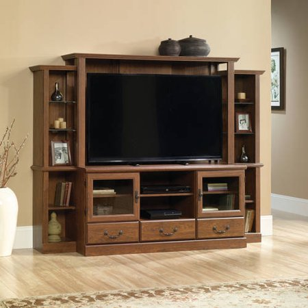 Sauder Orchard Hills Milled Cherry Home Theater for TVs up to 42;