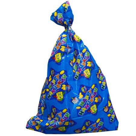 Jumbo Hanukkah Plastic Gift Bags Pack Of 24