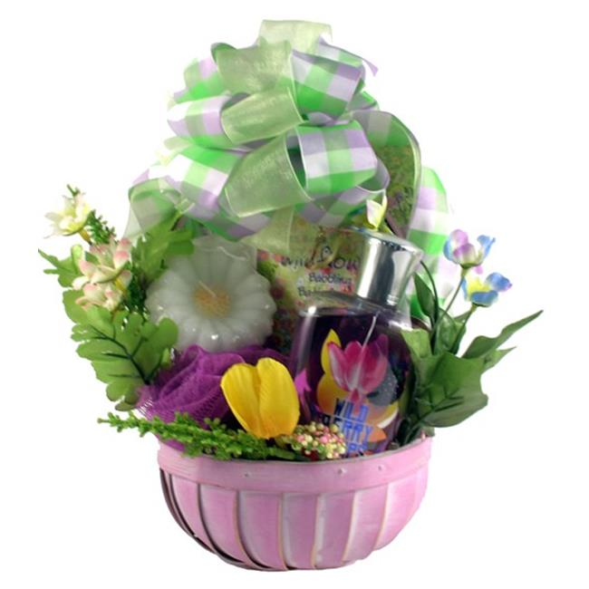 Gift Basket Drop Shipping WiBeSpBa Wild Berry Spa Basket