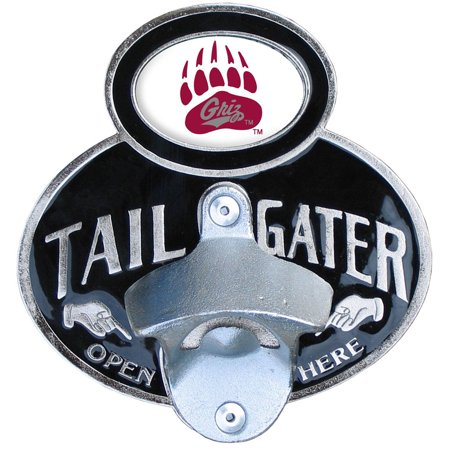 Montana Grizzlies Official NCAA  Tailgater Hitch Cover w/Bottle Opener by Siskiyou