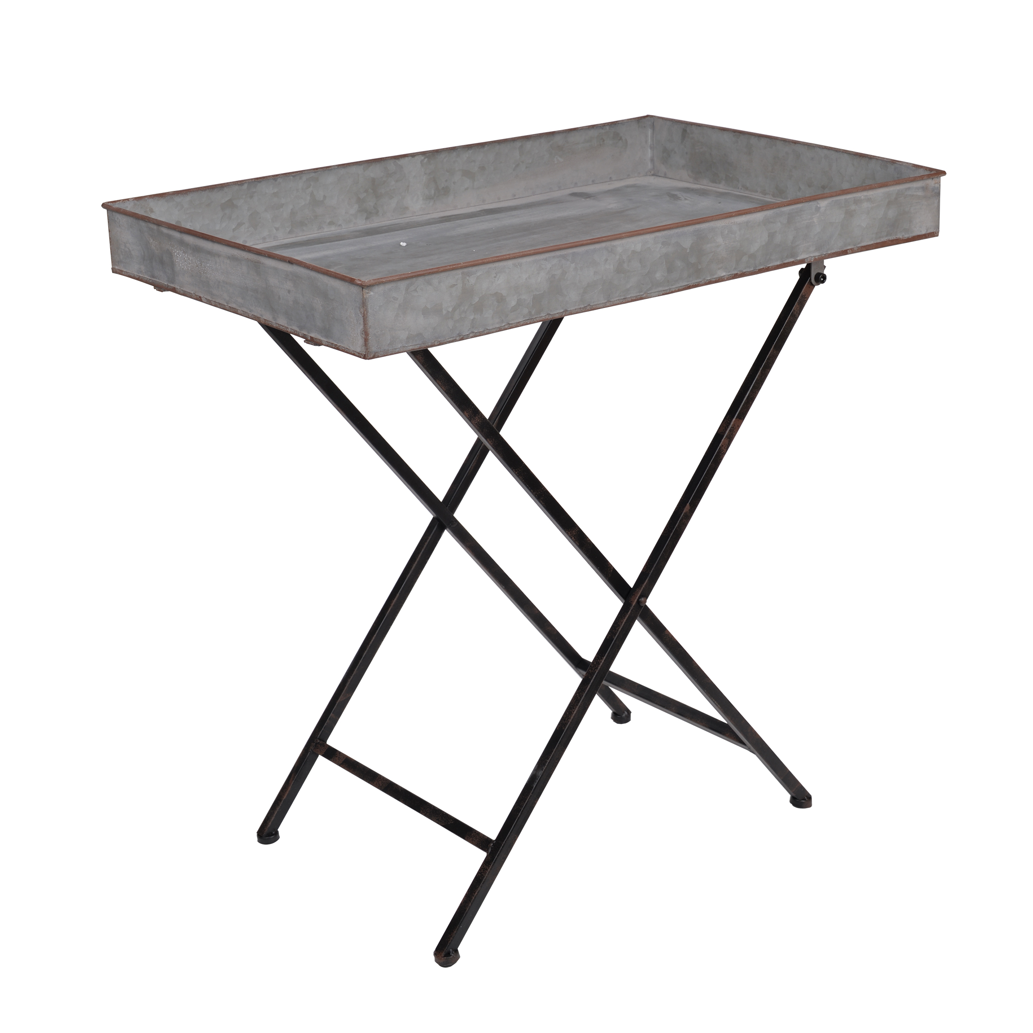 A&B Home Reed Metal Folding Table