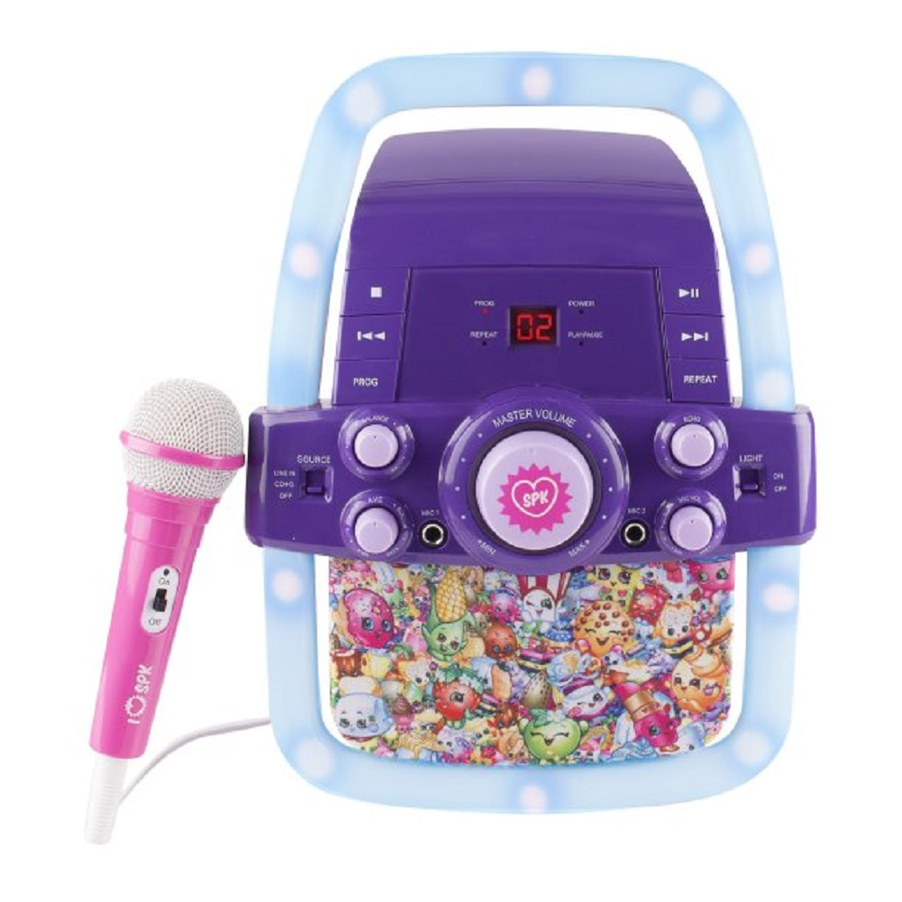 Shopkins Flashing Light Karaoke by Sakar International