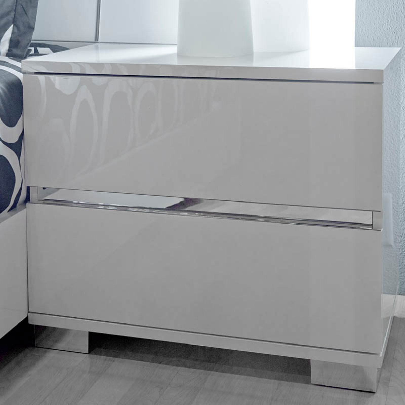 Star International Icon 2 Drawer Nightstand