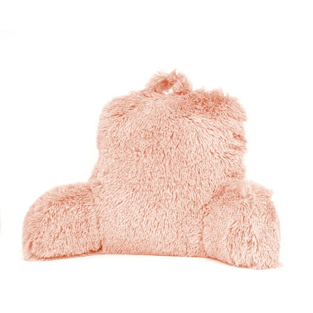 Mainstays Long Hair Faux Fur Backrest Pillow,