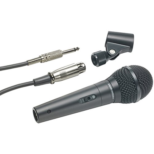 Audio-Technica ATR-1300 Unidirectional Dynamic Vocal Instrument Microphone by