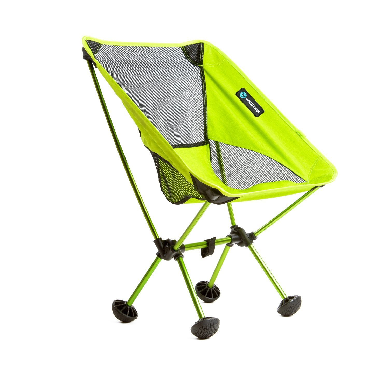 Wildhorn Outfitters TerraLite Portable Folding Camping & Beach Chair, Neon Green
