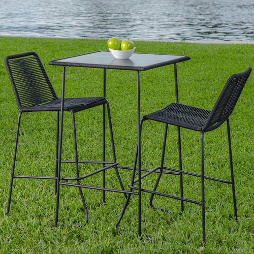 Matrix Mia 3 Piece Pub Table Set by Matrix