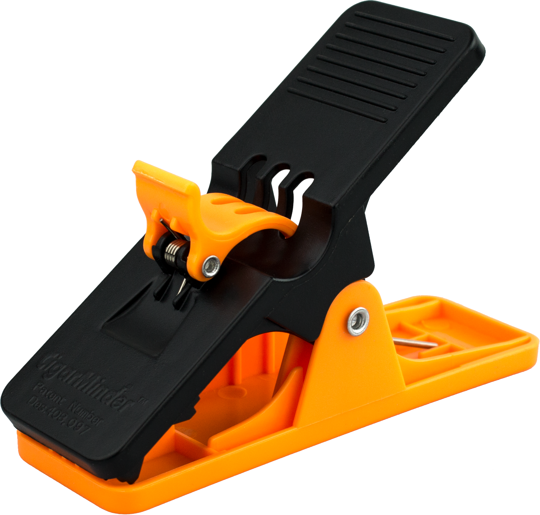 Cigar Minder Clip - All Purpose Cigar Holder (Orange)