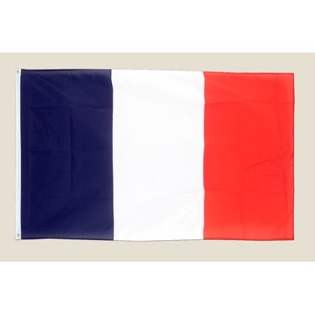 France 3x5 Flag Blue White Red Polyester 2 Brass Grommets Country (94 Country With Blue On Its Flag)
