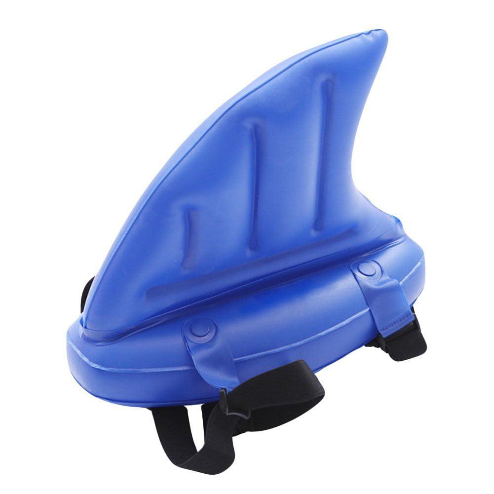 CyberDyer Children Floating Inflatable Swim Aid Toys Super Thick Training Shark Swim Fins