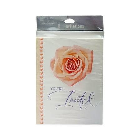 Hallmark Love In Bloom Bridal Shower Invitations W Envelopes 8 Count