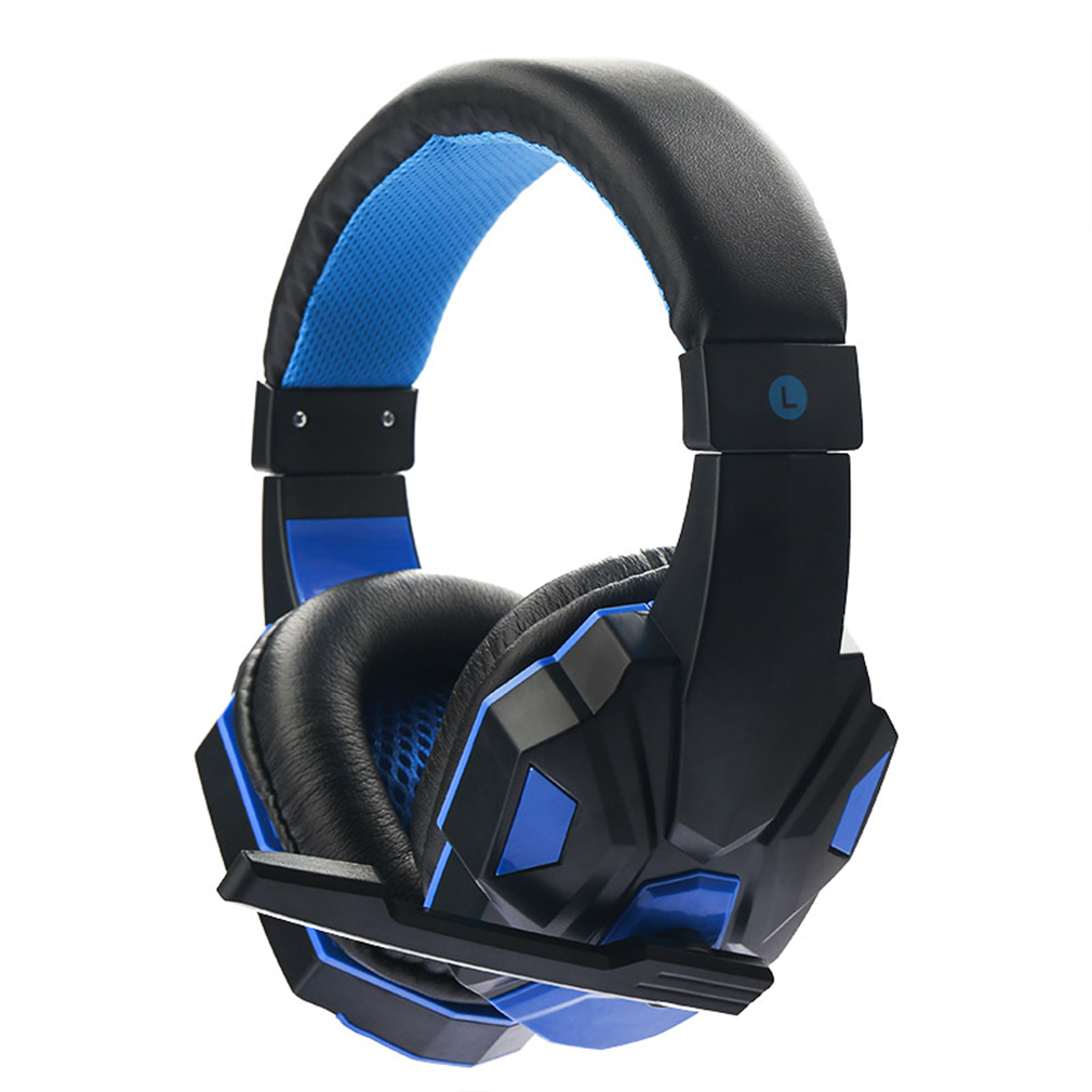 2017 New 3.5mm Cool Surround Stereo Gaming Headset Headband Headphone with Mic for PC