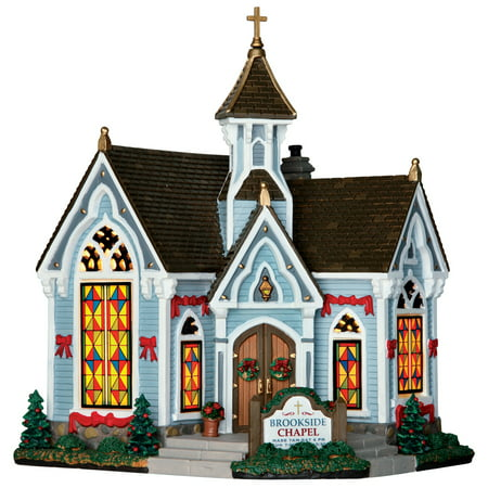 Lemax 65126 Brookside Chapel Christmas Porcelain Village