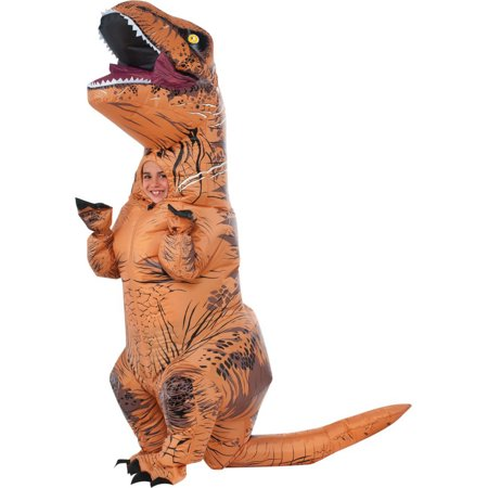 Jurassic World: T-Rex Inflatable Child Costume (Kids Scarecrow Costume)