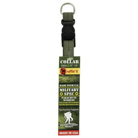 81014 2 Dog Collar Green Military Spec Small Quantity 1