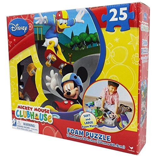 Disney Mickey Mouse Clubhouse 25 Piece Floor Foam Puzzle