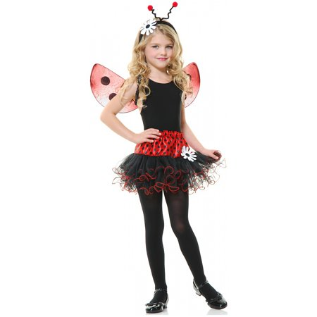 Lady Bug Set Child Costume - One - Child Ladybug Costume