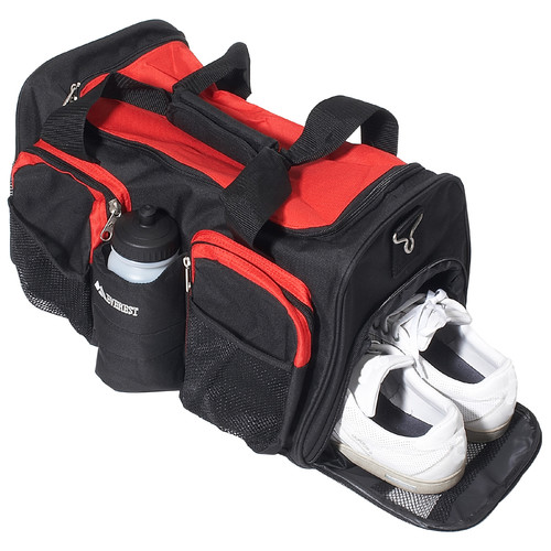 Everest 18'' Sports Travel Duffel with Wet Pocket