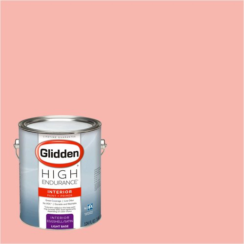 Glidden High Endurance, Interior Paint and Primer, Coral Flower, # 21YR 57/250