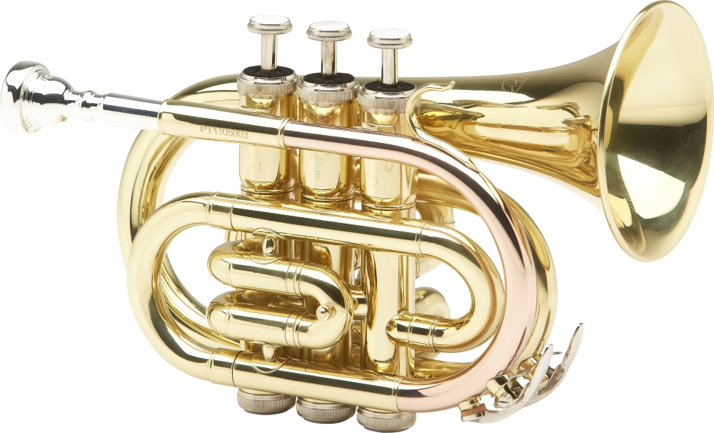 Allora MXPT-5801 Series Pocket Trumpet Lacquer by Allora