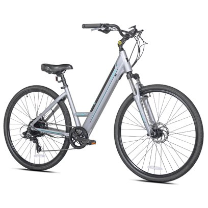 Kent Electric Pedal Assist Mountain Bike with 27.5″ Wheels