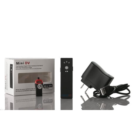 Portable Pocket Video Camera Recorder Rechargeable to Monitor Party Crowd - image 4 of 7