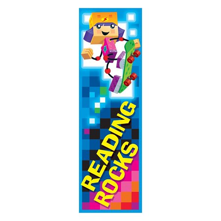 Halloween Reading Bookmarks (Trend Enterprises Reading Rocks Block Stars! Bookmarks (36 Piece), Keep a variety on hand to motivate reading, reward behavior, and recognize.., By Trend Enterprises Inc Ship from)