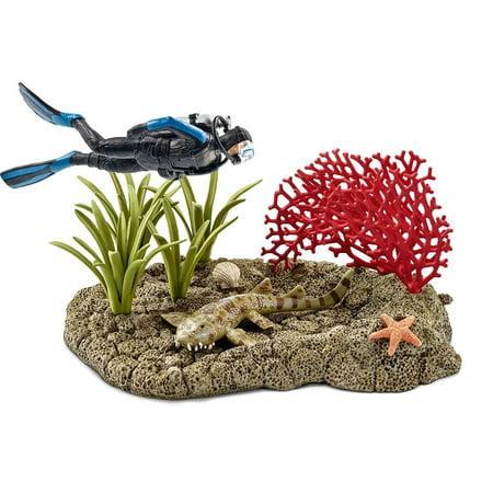 Schleich - 42328   Wild Life: Coral Reef Diver - image 1 de 1