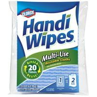Clorox Handi Wipes Multi-Use Reusable Cloths, 6 Count