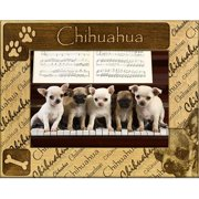 Giftworks Plus DBA0051 Chihuahua, Alder Wood Frame, 5 x 7 In