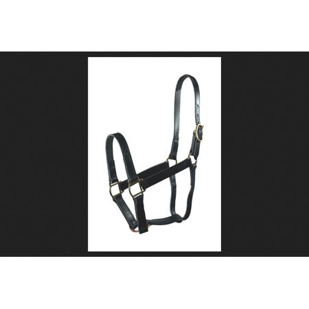 Hamilton Leather Halter (Hamilton Black Leather Halter For Horse)