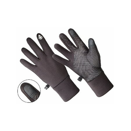 AL1401, Ladies Multi-Purpose Athletic Glove, Touch Screen Compatible, Black (One Size Fits Most).