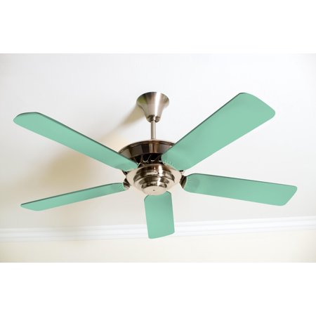 Solid Mint Green Fancy Blade Ceiling Fan Blade Covers Home Decor & Baby Décor