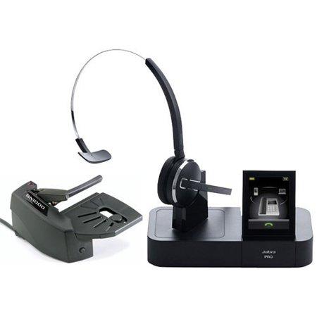 Jabra PRO 9470 Mono Wireless Headset with GN1000 Remote Handset
