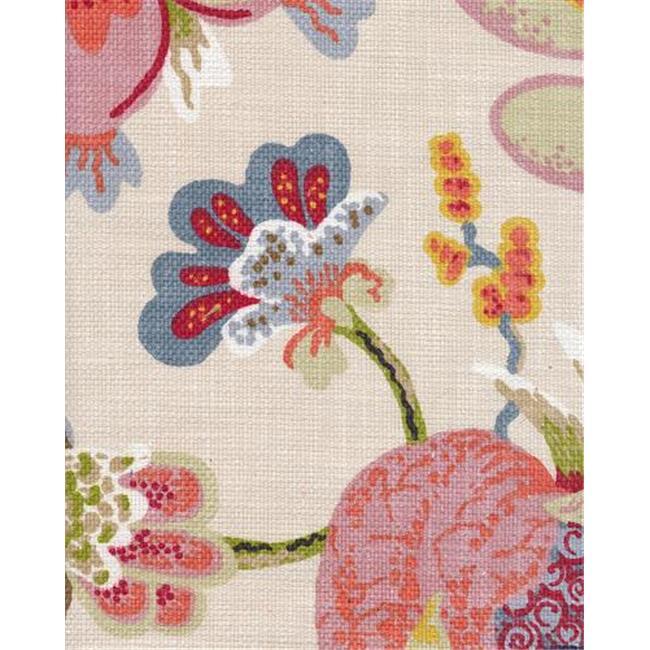 Braemore WONPEA6 Wonderland 100 Percent Cotton Fabric, 54 inch x 6 Yards