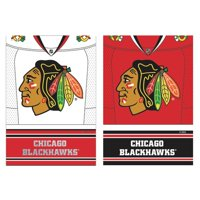 Evergreen Enterprises, Inc NHL DS Suede Foil Garden Jersey Polyester 1'6 x 1'0.5 ft. Banner (Set of 2)