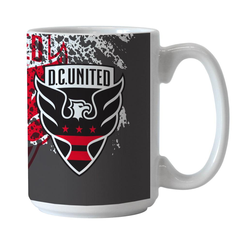 D.C. United 15oz. Splatter Mug - No Size