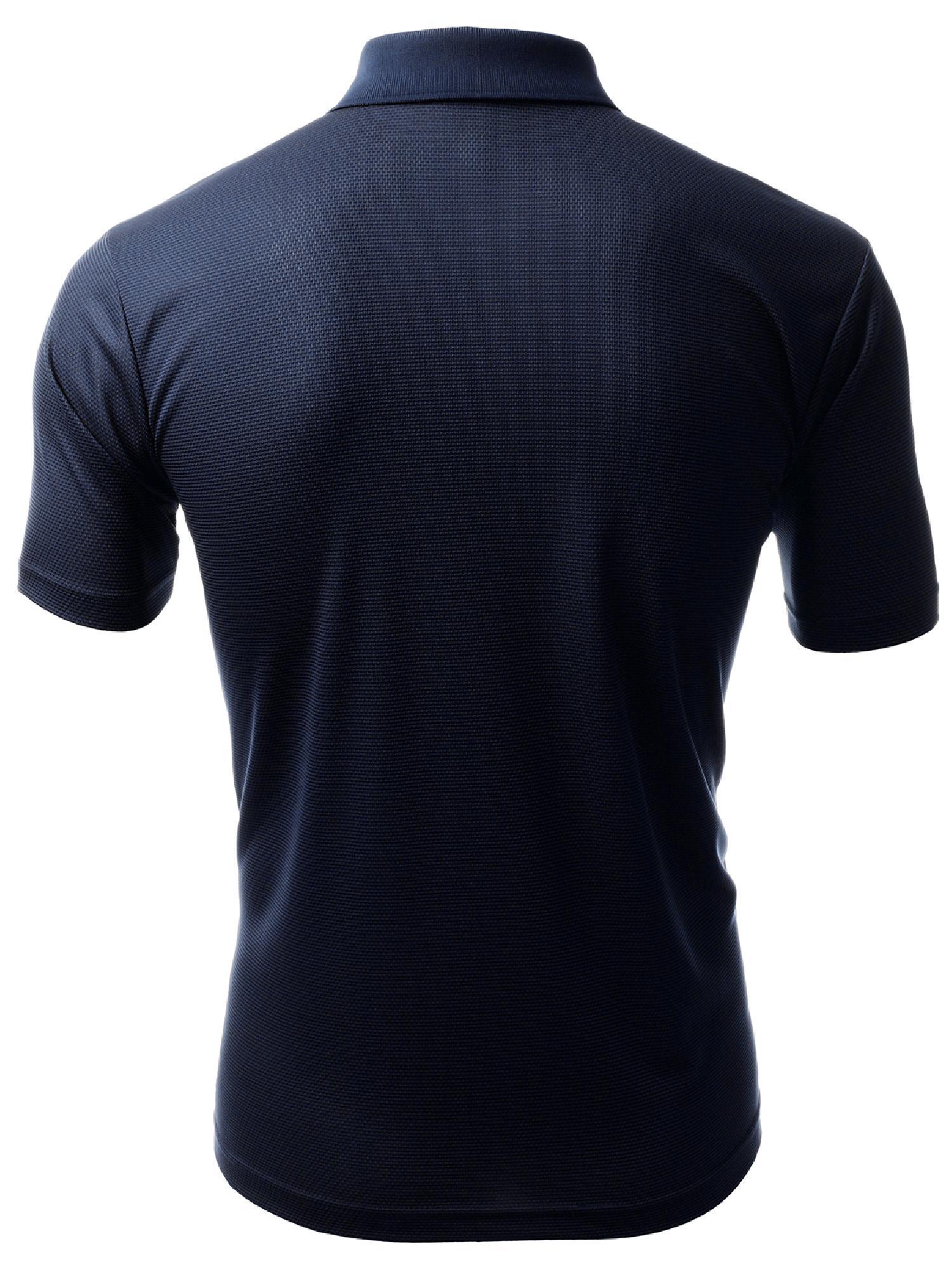 1dc05f5f FashionOutfit - FashionOutfit Men's Coolever Premium Short Sleeve Polo T- Shirts - Walmart.com
